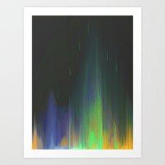 Night Rain Art Print