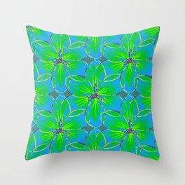 Flower Sketch 5 Throw Pillow