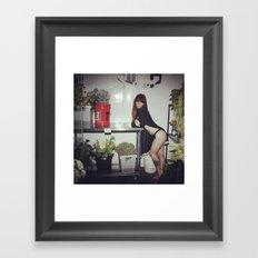 Hattie Freezer Framed Art Print