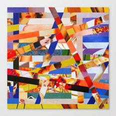 Jacqueline (stripes 7) Canvas Print