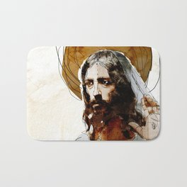 Shalom Aleichem/Peace Be With You Bath Mat