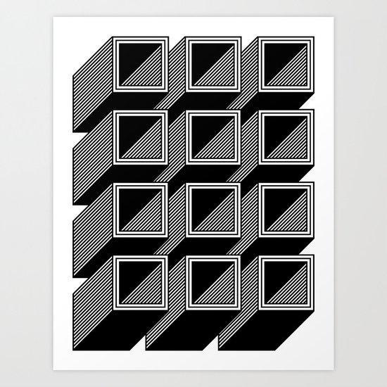 Extrube Art Print