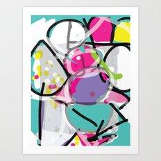 iPad AB EX Art Print