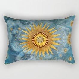 """""""Saturn mandala celestial vault"""" Rectangular Pillow"""