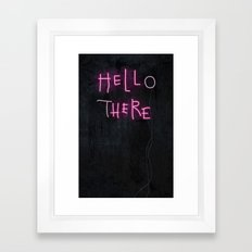 Hell Here Framed Art Print