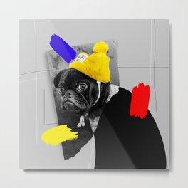 pug the mug Metal Print