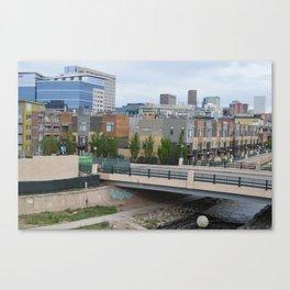 Denver Skyline & Condos Canvas Print