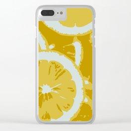 LEMON ZING Clear iPhone Case
