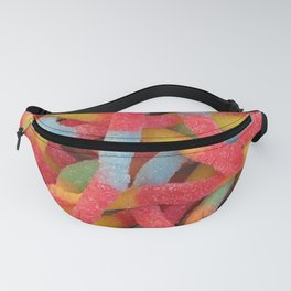 Sour Gummy Worms Fanny Pack