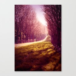 Tendre Printemps Canvas Print