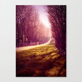 Tendre Printemps Canvas Print