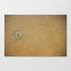 Time up!! Canvas Print