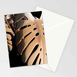Copper Monsteria Stationery Cards