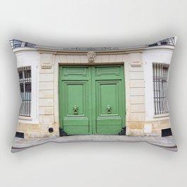 Envy - Ornate Parisian Door Rectangular Pillow