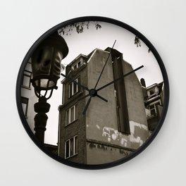 Poetic City Wall Clock