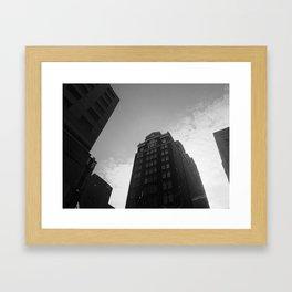 Center City Philadelphia Framed Art Print