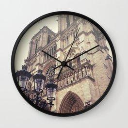 Notre Dame de Paris Wall Clock