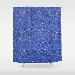 Future Primitive II Shower Curtain