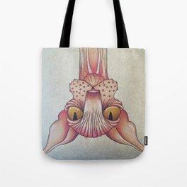 Upside-Down Sphynx Tote Bag