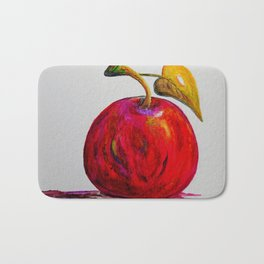 Kaleidoscope Apple or APPLE FOR THE TEACHER Bath Mat