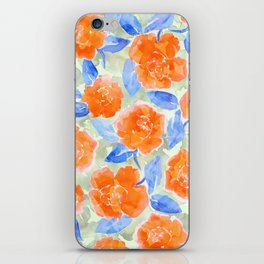Cottage Peonies iPhone Skin