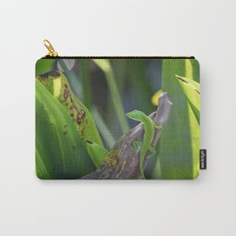 The Green Anole Carry-All Pouch