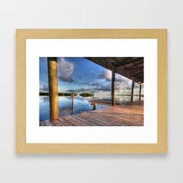 Bayside, Tavernier Framed Art Print