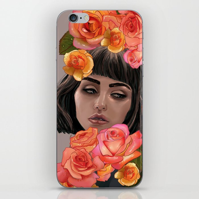 Buried in Petal iPhone Skin
