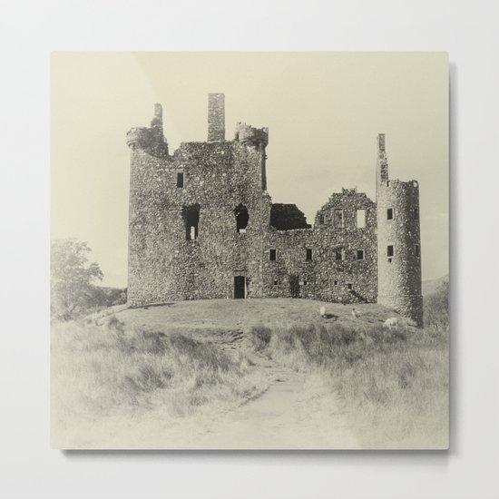 Kilchurn Castle 3 Metal Print