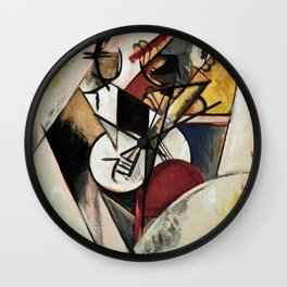 Study after Gleizes' Composition pour Jazz Wall Clock