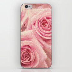 For the love of pink roses iPhone & iPod Skin