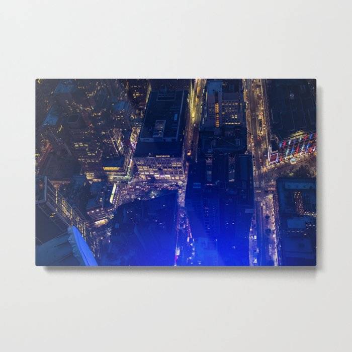 Above the city Metal Print