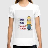 minion T-shirts featuring Minion by rosita