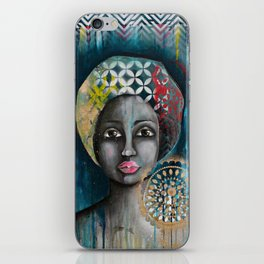 mother africa iPhone Skin