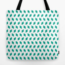 rhombus bomb in emerald Tote Bag
