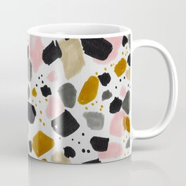 Terrazo brushstrokes Coffee Mug