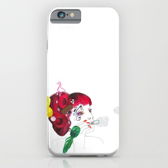 Bubble girl iPhone & iPod Case