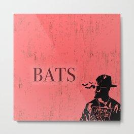 Baby Driver (Bats) Metal Print