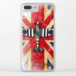 Spitfire Mk.IX Clear iPhone Case