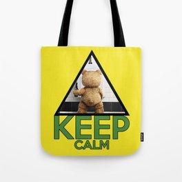 "Keep Calm ""Ted"" Tote Bag"