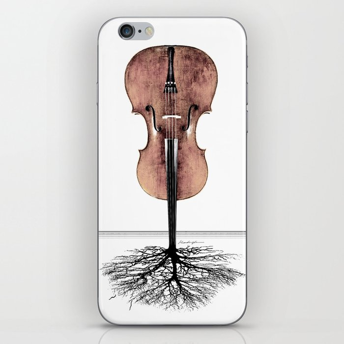 Rooted Sound II iPhone Skin