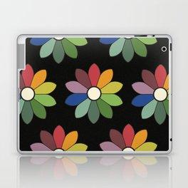 Flower pattern based on James Ward's Chromatic Circle (vintage wash) Laptop & iPad Skin