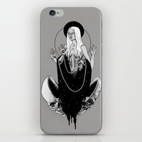 goddess iPhone & iPod Skins featuring Goddess by alesaenzart