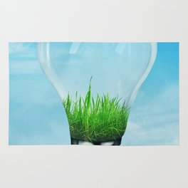 Save Green Concept Rug