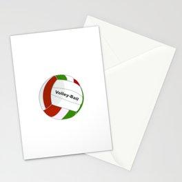 Zuhause ist wo mein Volleyball ist - Volleyballer Sport Ass Stationery Cards