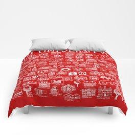 Miami University Map Comforters