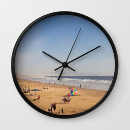The Beach II Wall Clock