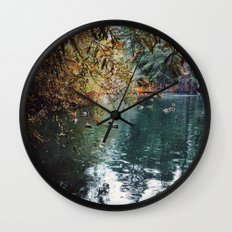 Heavenly Pond in Franklin Canyon Park, CA Wall Clock