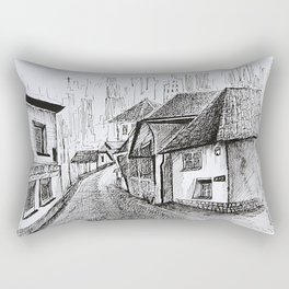 Architecture Sketch, Germany Rectangular Pillow