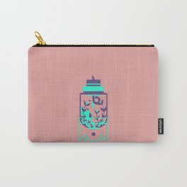"""poster : bottle 8 """"verre preambule"""" Carry-All Pouch"""